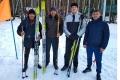 Шадринские полицейские заняли второе место на областных лыжных гонках