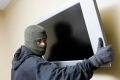 В Кургане задержан подозреваемый в краже телевизора