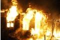 В селе Верхняя полевая во время пожара погиб пенсионер