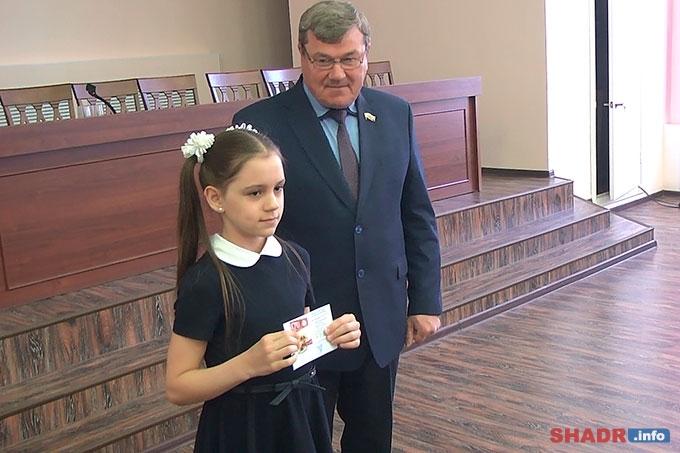 Шадринцы удостоены золотых знаков отличия ВСФК «ГТО»