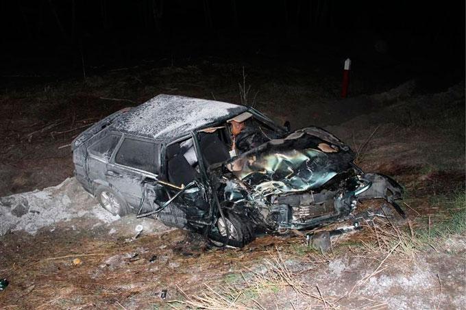 На территории областного центра погиб пассажир автомобиля