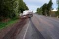 В Далматовском районе столкнулись легковой и грузовой автомобили