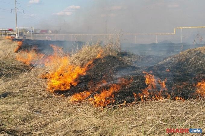 В Зауралье сохраняется высокая пожарная опасность