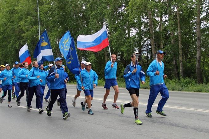 В Шадринск прибудет факел «Бега мира»