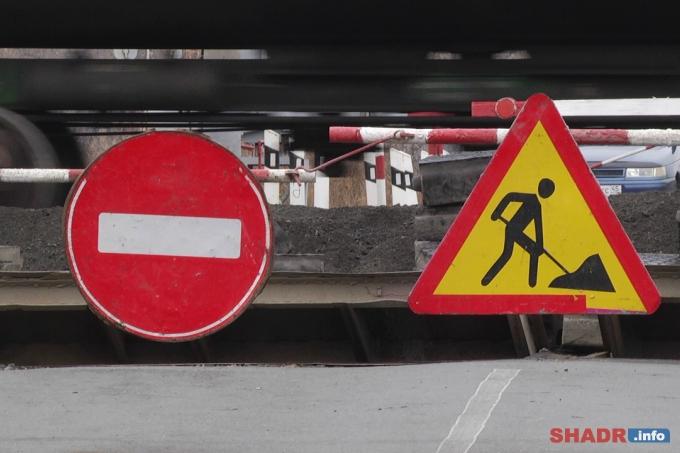 На переезде 195 км село Сухринское будут проводиться ремонтные работы