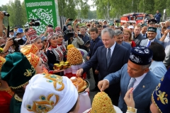 В Зауралье состоялся Всероссийский сельский Сабантуй