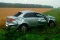 В Далматовском районе перевернулся автомобиль