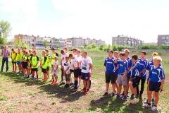 Команда Северного поселка - победитель соревнований по дворовому футболу