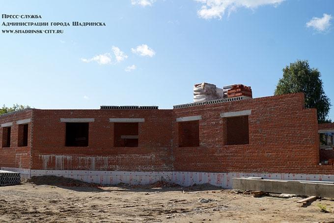 Строительство офтальмологической клиники в Шадринске идет по графику