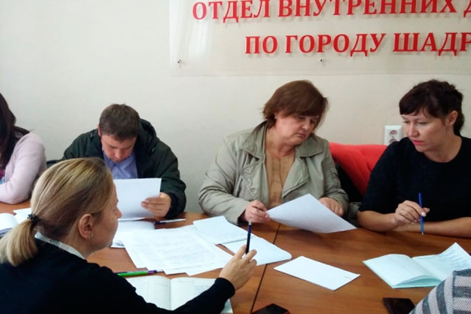 День профилактики правонарушений в Шадринске
