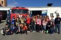 Школьники побывали на экскурсии в пожарно-спасательной части