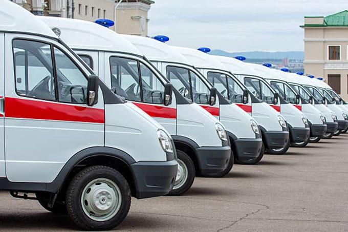 В Зауралье поступит 9 новых автомобилей скорой медицинской помощи