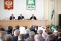 Николай Цуканов представил врио губернатора Курганской области Вадима Шумкова