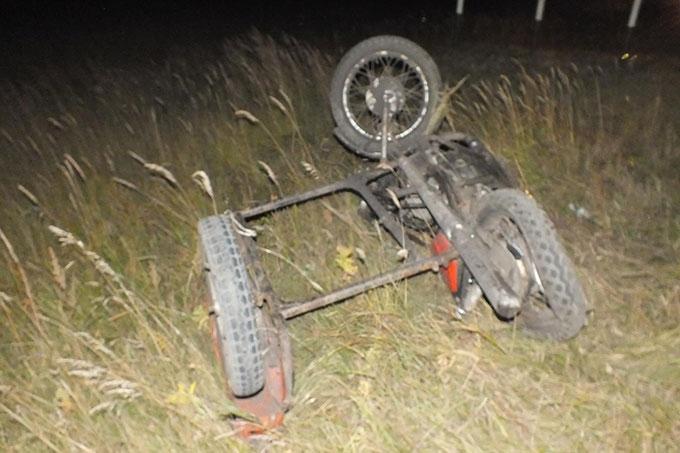 Мотоциклист без прав погиб в ДТП