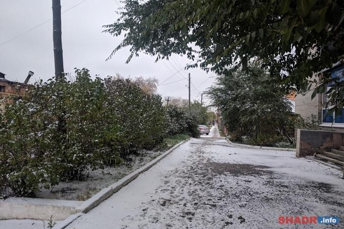 Погода выходных: минусовые температуры и снег