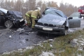 Столкновение на трассе: один погиб, ещё трое травмированы