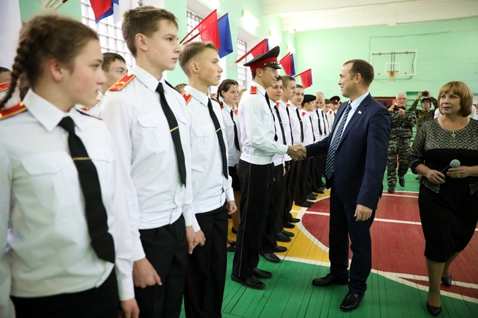 Вадим Шумков: «Воспитанники кадетских школ — будущее и опора страны»