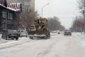 Коммунальные службы продолжают уборку снега с улиц Шадринска