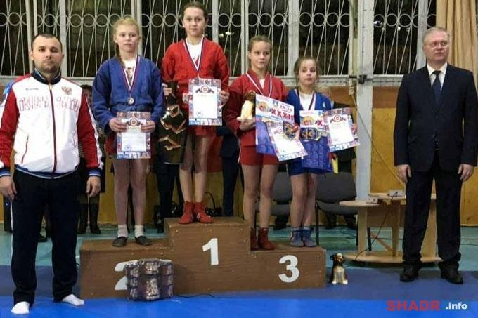 Шадринские самбистки среди победителей международного турнира