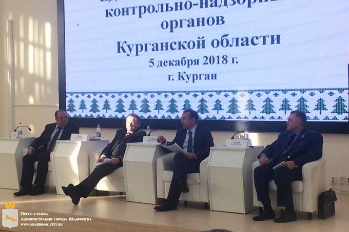 Шадринская делегация приняла участие во встрече с бизнес-омбудсменом России Борисом Титовым