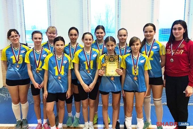 Шадринские волейболистки стали призёрами первенства области