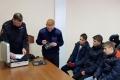 Шадринские школьники побывали с экскурсией в отделе внутренних дел полиции