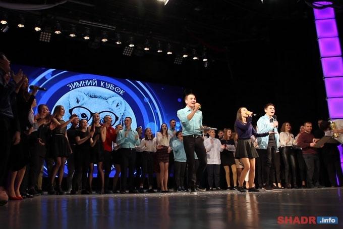 «Первый раз — и сразу кубок!»: в Шадринске разыграли зимний Кубок КВН