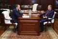 Вадим Шумков обсудил перспективы сотрудничества региона и ПАО «Газпром»