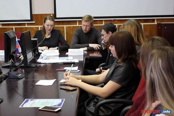 Шадринская Общественная молодёжная палата провела последнее в этом году заседание