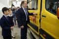 Приобретённые автобусы начали поступать в школы региона