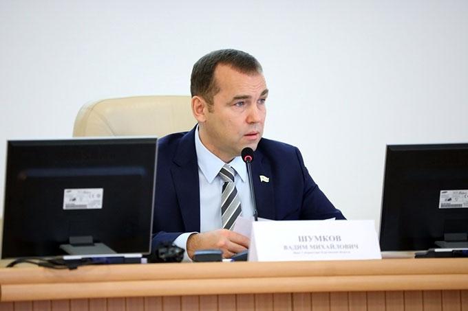 Вадим Шумков поставил задачу максимально снизить административное давление на бизнес в регионе