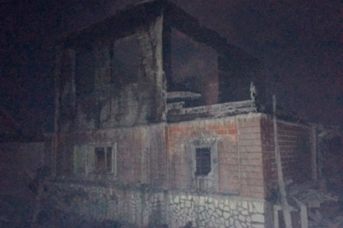 В Кургане в результате пожара погиб пенсионер