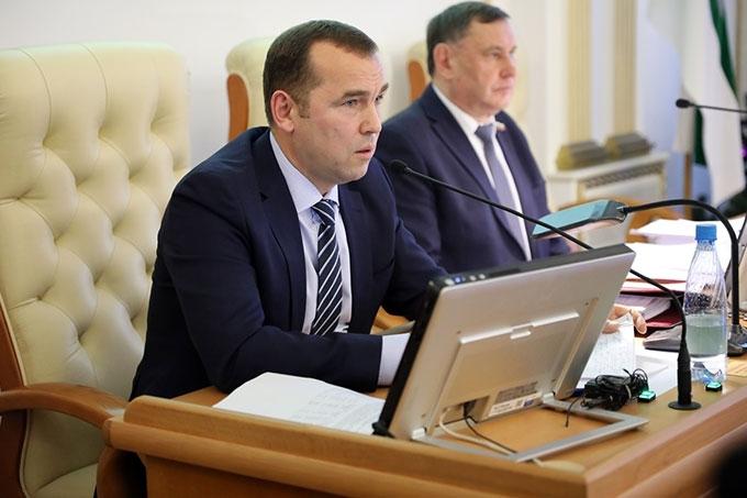 Врио губернатора Вадим Шумков обратился к депутатам Курганской областной Думы с посланием