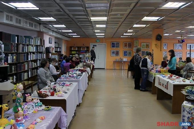 Зауральские умельцы представили свои работы на Рождественской ярмарке
