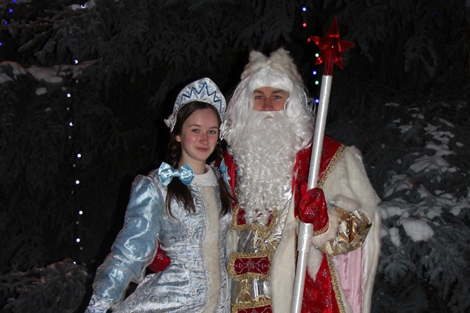 Дед Мороз: «Мечтаю, чтобы у деток всё было хорошо, и радостью искрились их глаза»
