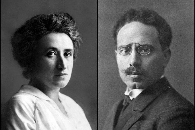 В январе исполняется 100 лет со дня гибели Карла Либкнехта и Розы Люксембург
