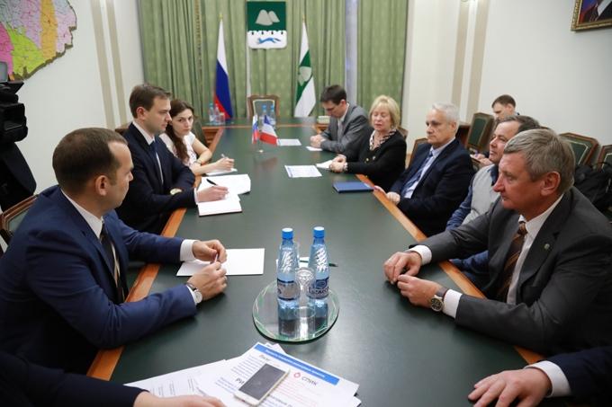 Вадим Шумков обсудил реализацию инвестпроекта с французскими поставщиками оборудования