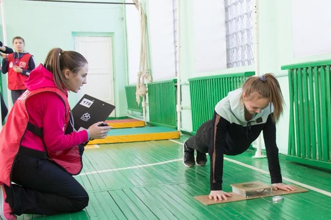 Зимний фестиваль ГТО прошёл в Шадринской кадетской школе