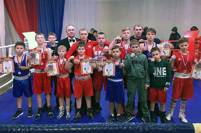 Боксёры ДЮСШ «Гонг» отлично выступили на турнире в посёлке Мишкино