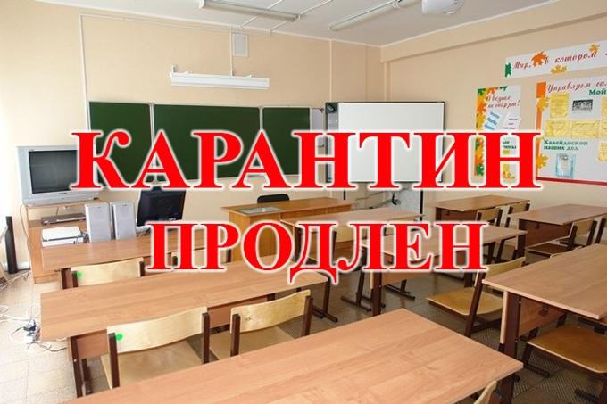 Карантин в Шадринских школах продлён