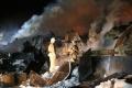 В Кургане ликвидировали пожар на площади 1600 квадратных метров