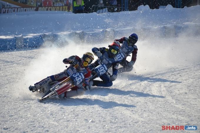 Второй финал личного чемпионата мира по мотогонкам на льду стартовал на шадринском стадионе «Торпедо»
