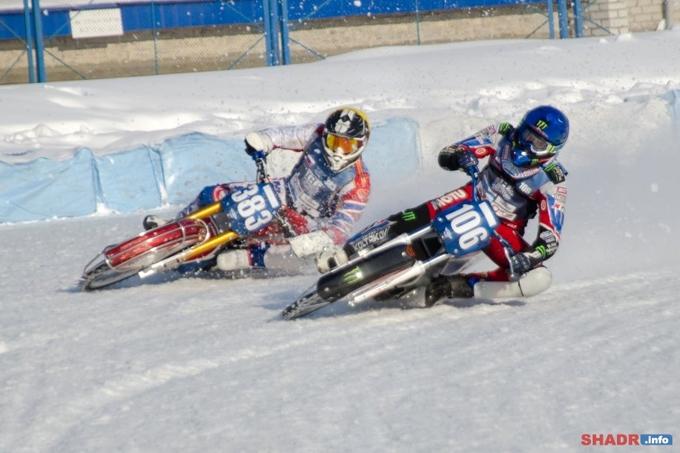 Ледовый спидвей в Шадринске: в третий раз на мировом уровне