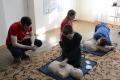 Шадринские школьники учились делать непрямой массаж сердца