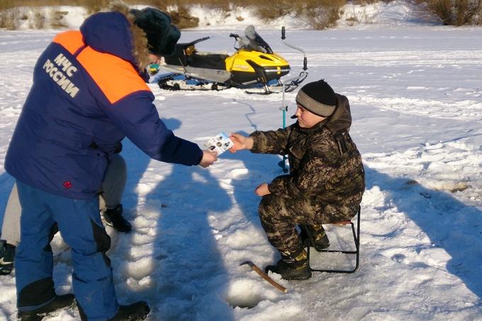 В Зауралье стартовал очередной этап акции «Безопасный лёд»