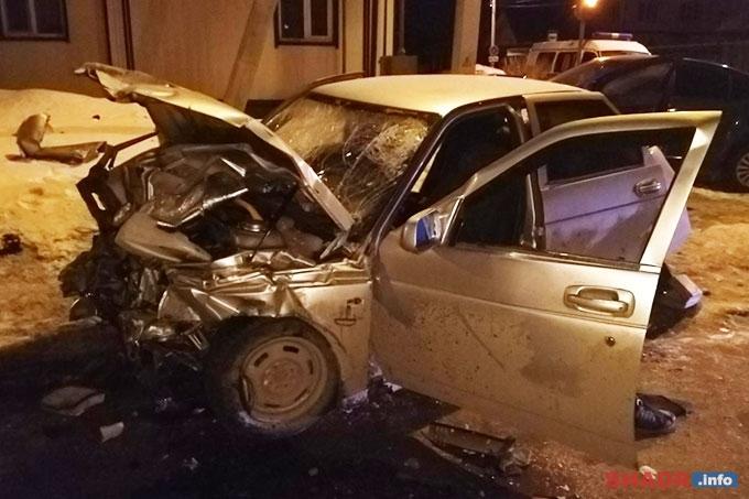 По вине пьяного водителя три человека госпитализированы, ещё один скончался на месте