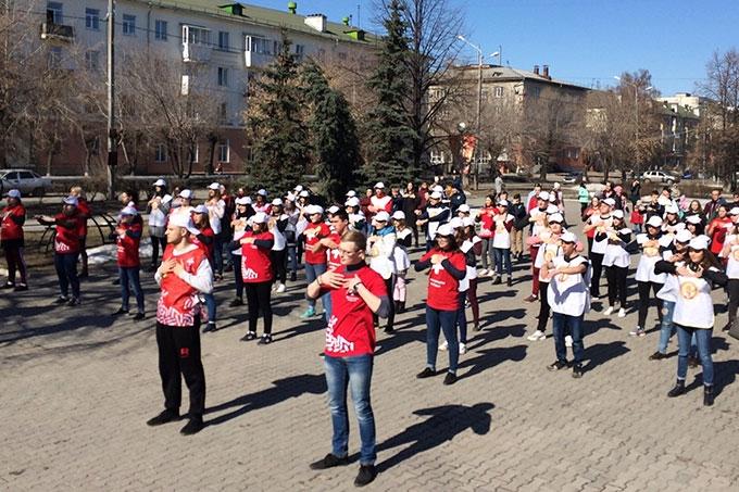 Во Всемирный День здоровья Шадринск поддержал Всероссийскую акцию «10 000 шагов к жизни»