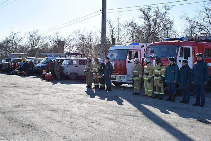 Шадринские спасатели готовы к тушению лесных пожаров