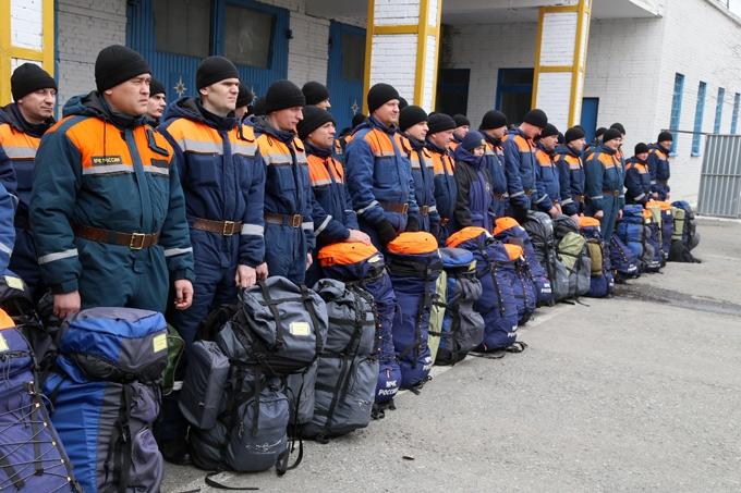 В Зауралье проходят всероссийские учения МЧС