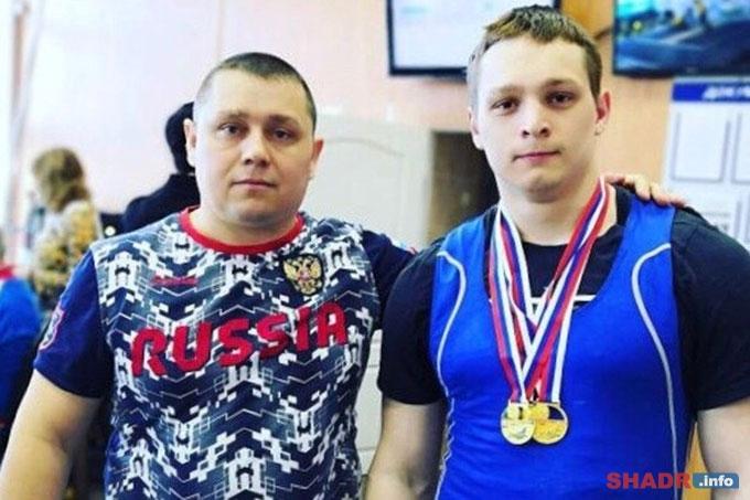 Александр Кибанов — победитель первенства России по тяжёлой атлетике